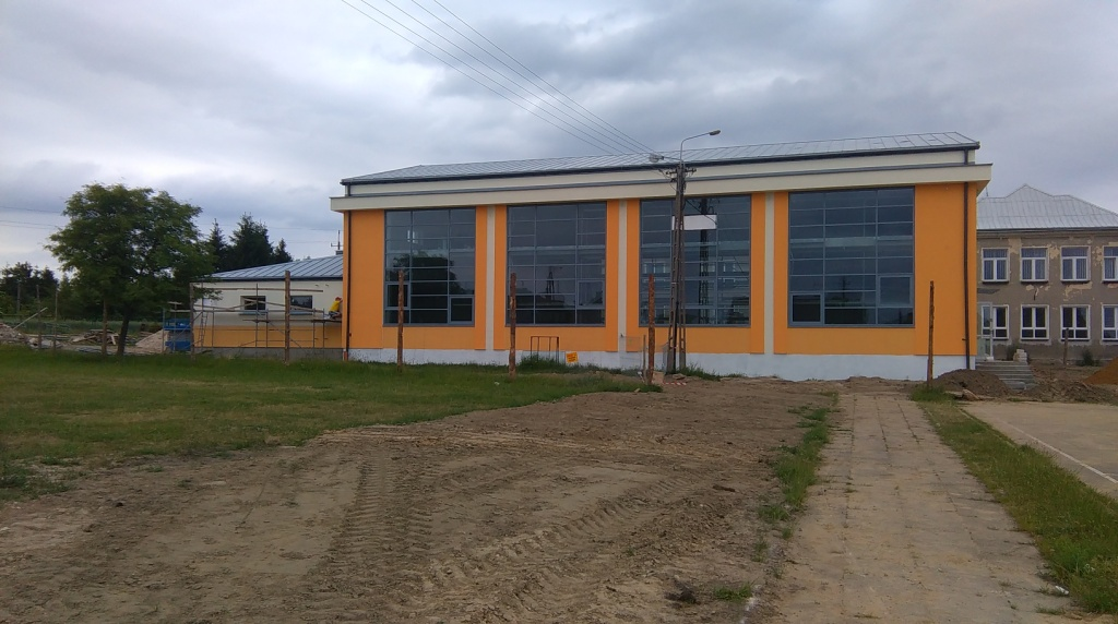 Sala gimnastyczna - Uhowo - Master - Emil Borys Budownictwo