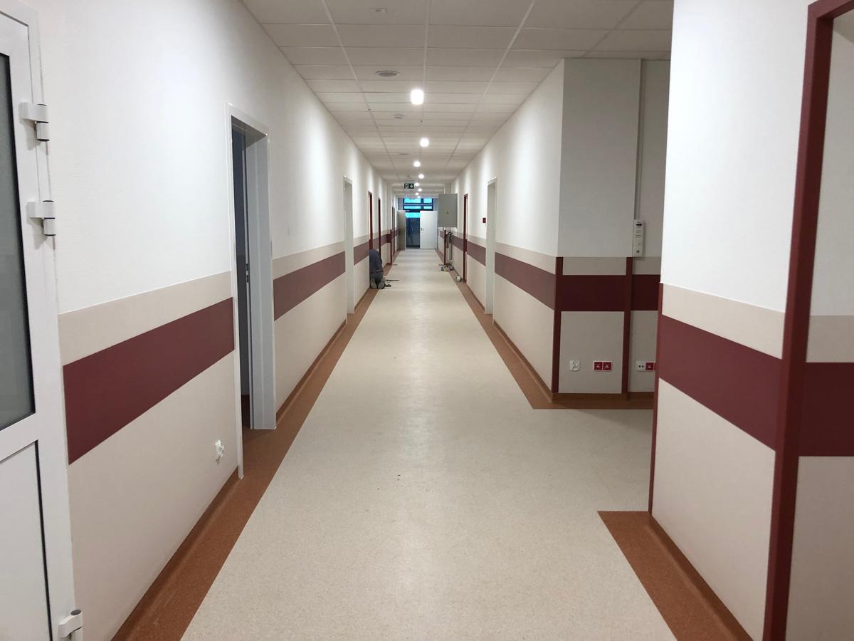 Szpital - Remont SOR - Wysokie Mazowieckie - Master - Emil Borys Budownictwo