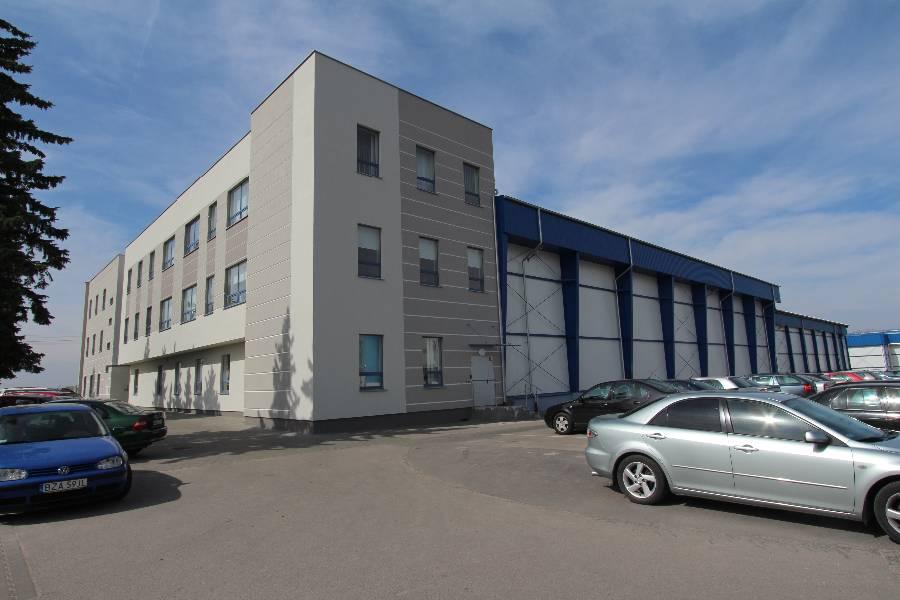 Budynek biurowo-socjalny z zapleczem magazynowym - Mlekovita - Wysokie Mazowieckie - Master - Emil Borys Budownictwo