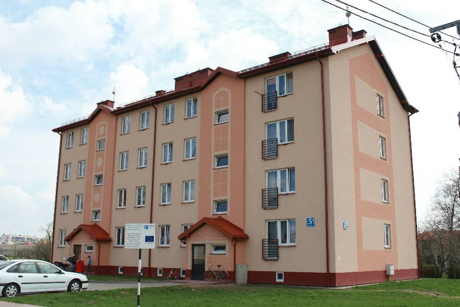 Budynek wielorodzinny - Wysokie Mazowieckie - Master - Emil Borys Budownictwo