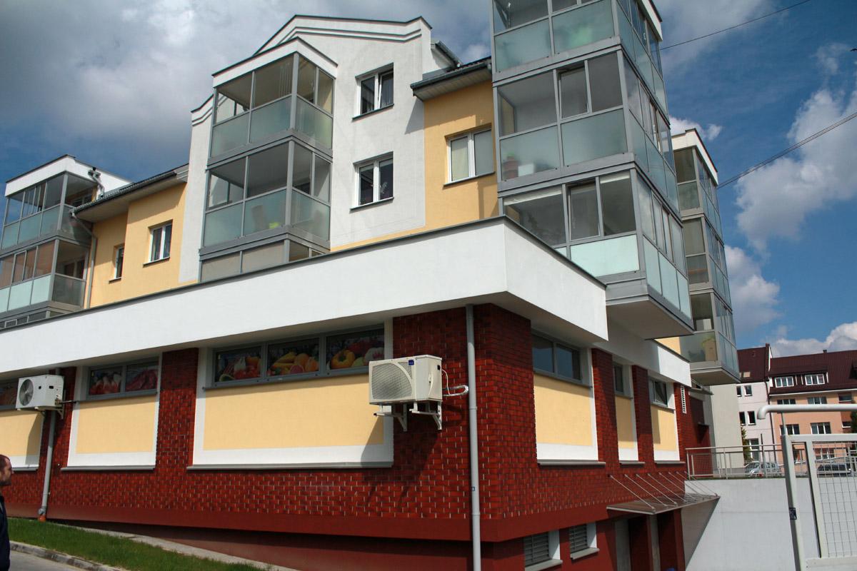 Budynek mieszkalno-usługowy SM - Wysokie Mazowieckie - Master - Emil Borys Budownictwo