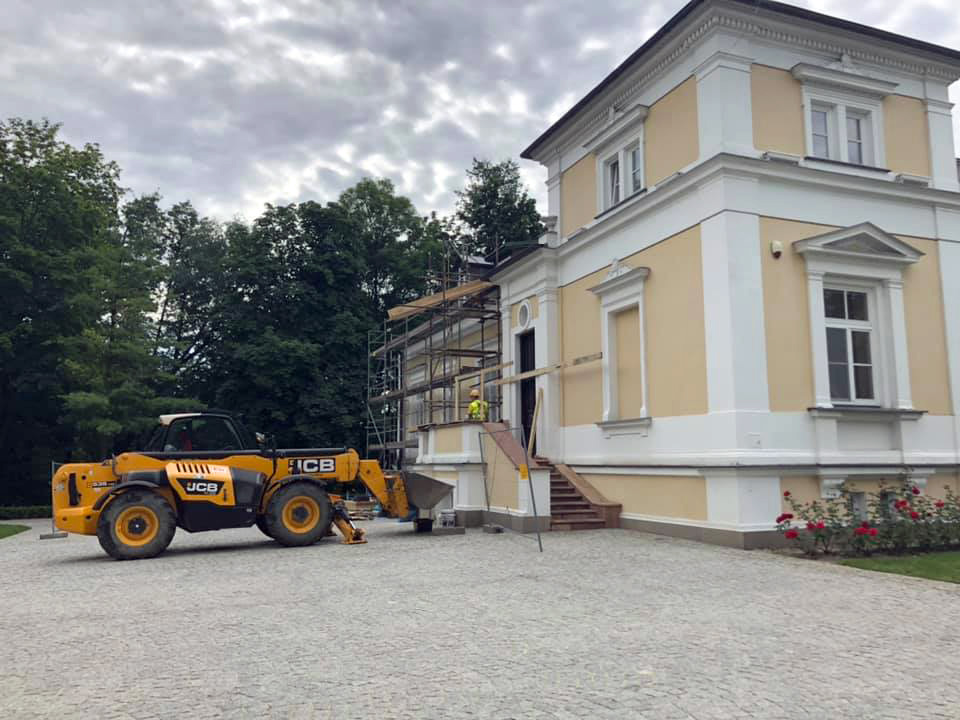Remont zabytkowego Pałacu - Ciechanowiec