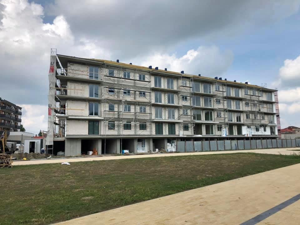 Zielone Tarasy - Etap III - Wysokie Mazowieckie - Postępy na budowie