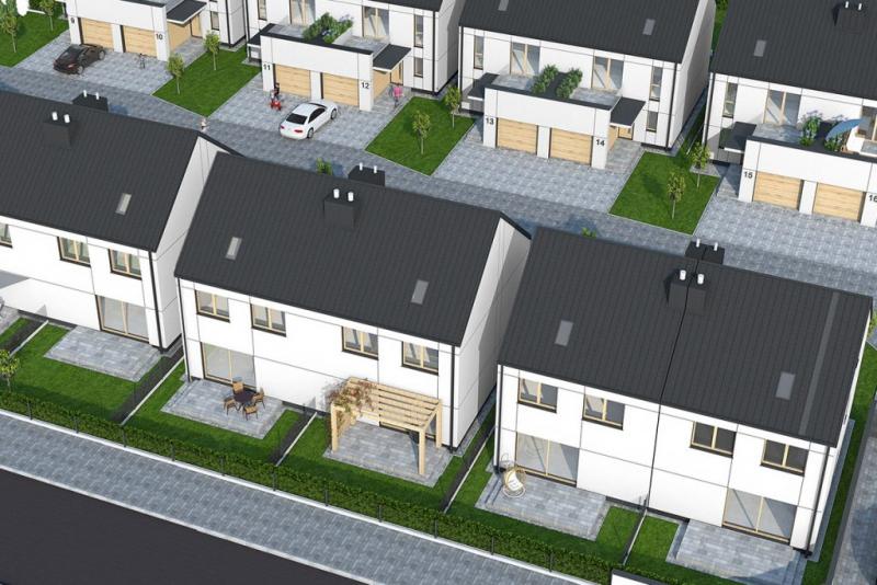Zambrów - Domy, ul. Wiejska 6 - Master  Budownictwo