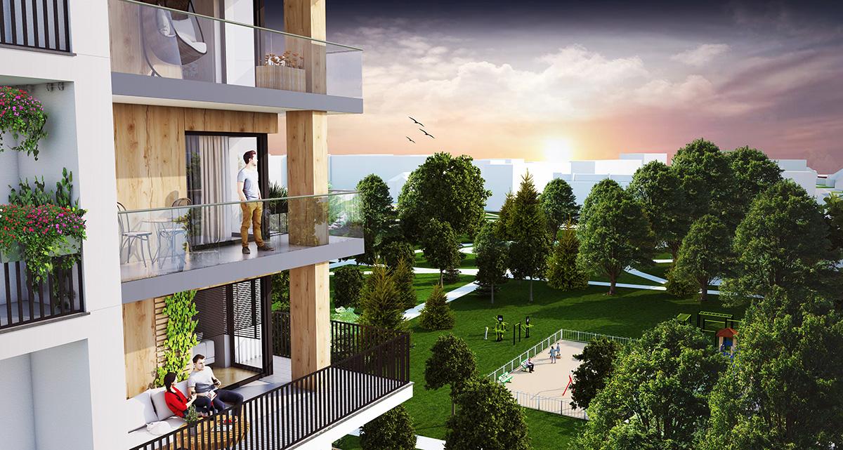 Apartamenty przy parku | Wysokie Mazowieckie | Master Budownictwo Emil Borys